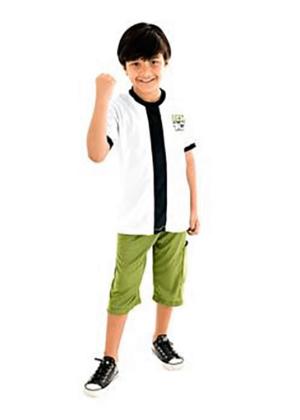 Ben 10 – Personagem – Masculino -Infantil – Branco