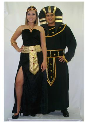 Casal Cleopatra e Faraó – Personagem – Nação – Adulto