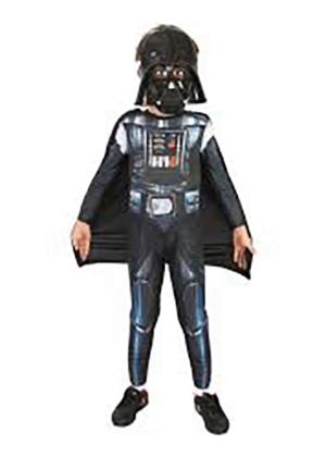Darth Vader – Personagem – Halloween – Masculino – Infantil – Preto