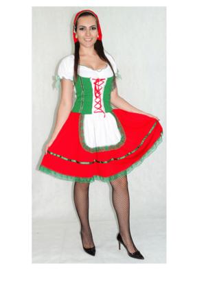 Italiana – Nação – Feminino – Adulto – Verde