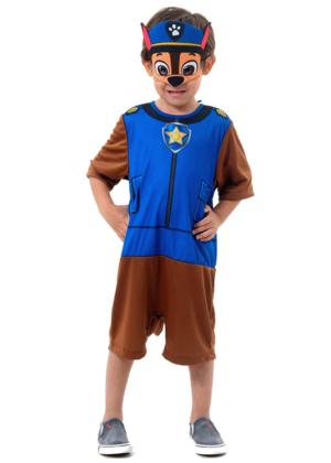 Patrulha Canina Chase – Personagem – Animal – Masculino – Infantil – Marrom