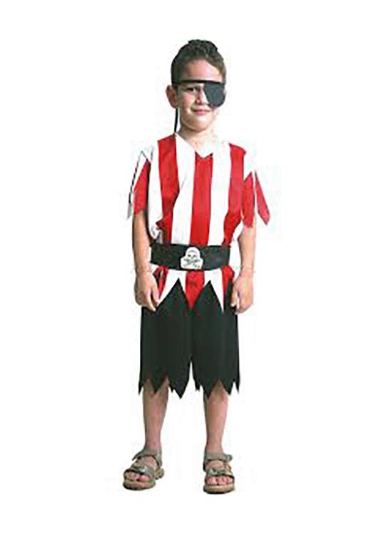 Piratinha 6 – Halloween – Masculino – Infantil – Preto