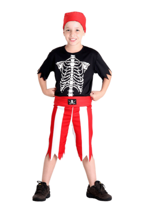 Piratinha – Halloween – Masculino – Infantil – Preto