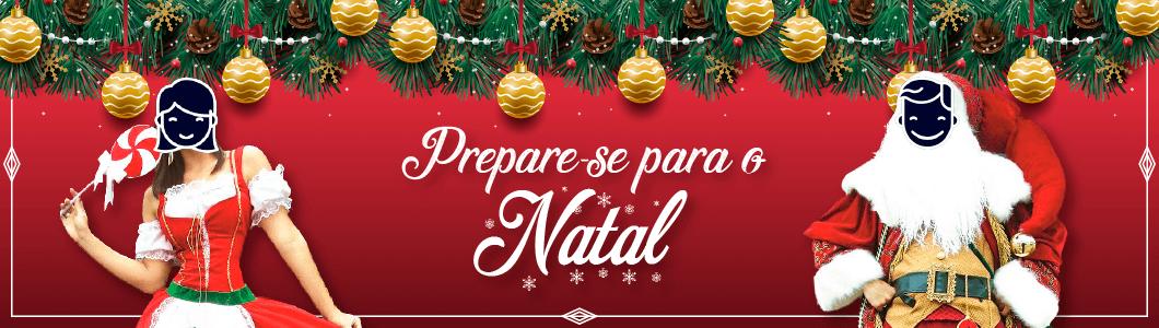 Prepare-se para o Natal, confira a nossa seleção de fantasias para alugar!
